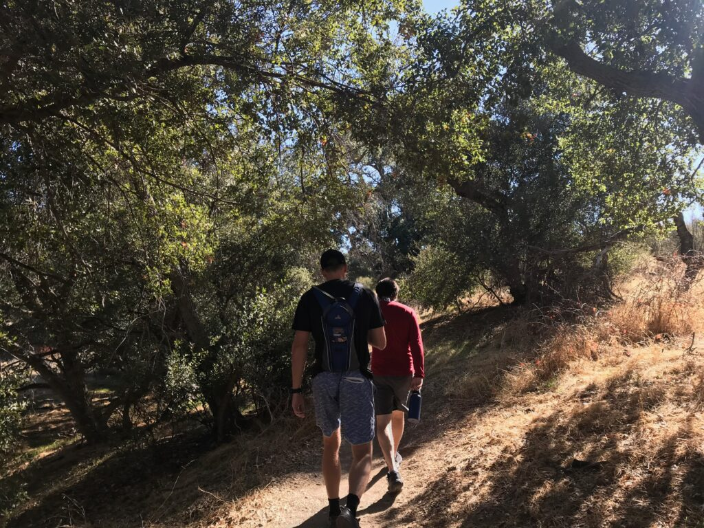 picture of eagle rock hiking path